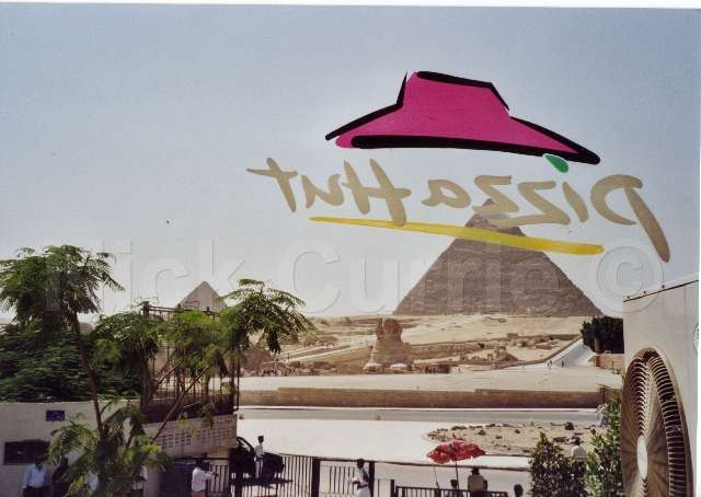 Egyptian Pyramids Giza Pizza Hut The Travel Tart