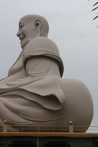 I Like Big Butts And I Cannot Lie Unusual Buddha Photo in Mekong Delta