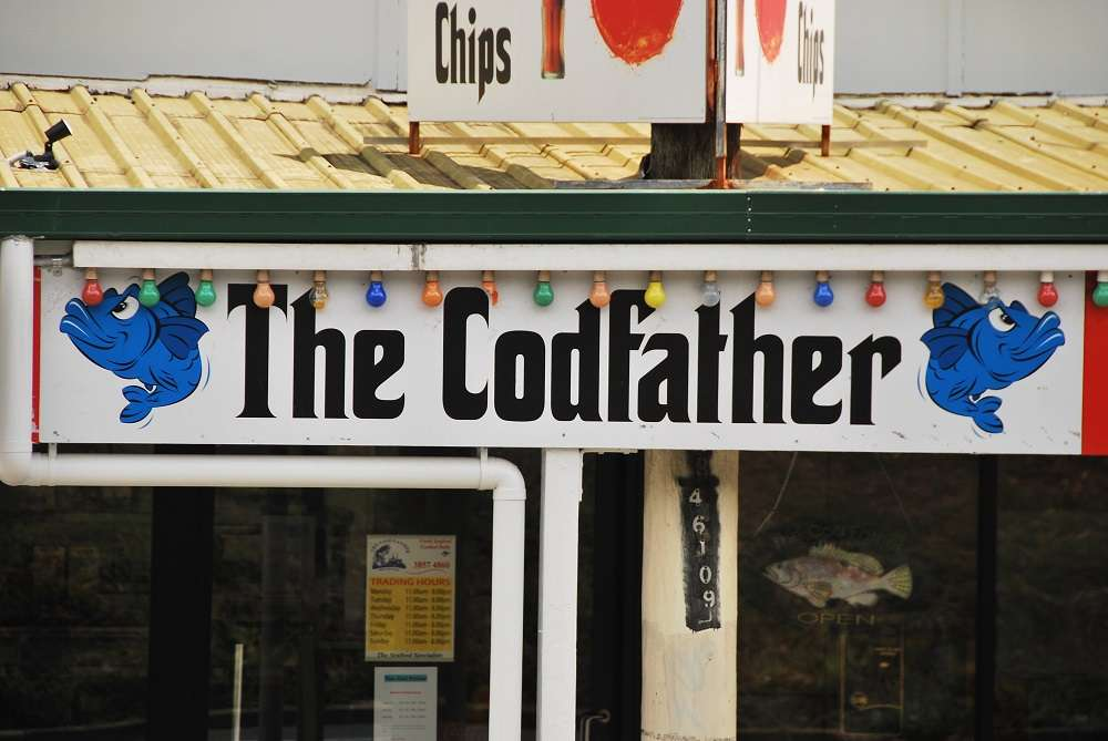 Godfather movie parody - the Codfather