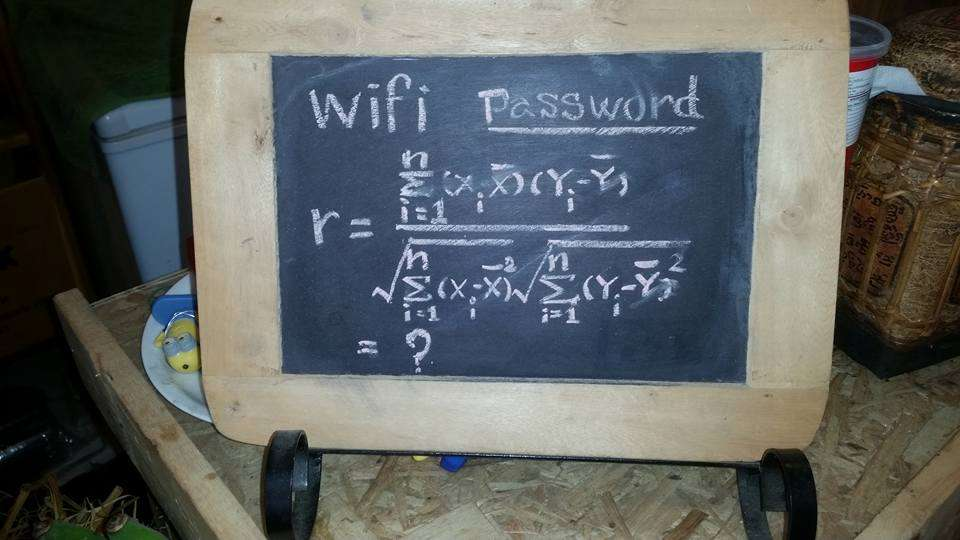 Whats The Wifi Password