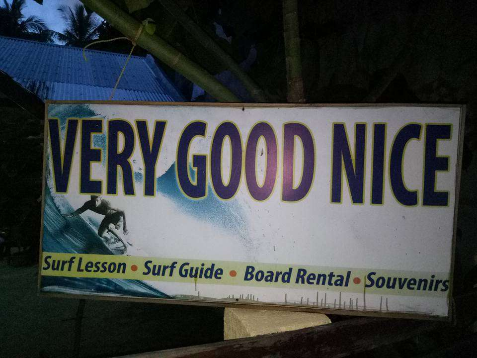 Siargao Surfing in the Philippines - Very Good Nice